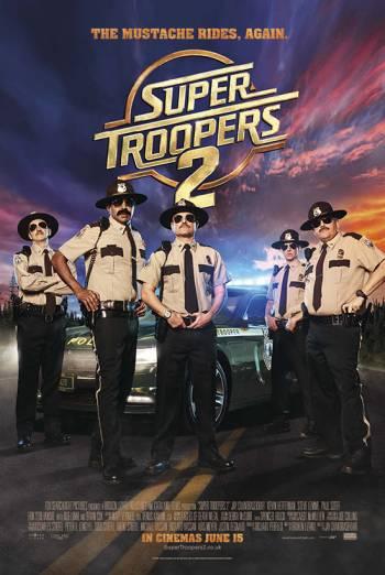 SUPER TROOPERS 2 <span>(2018)</span> artwork
