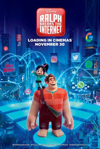 Ralph Breaks The Internet: Wreck It Ralph 2 Poster