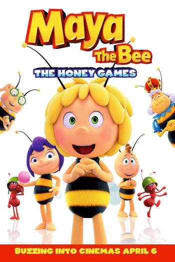 MAYA THE BEE: THE HONEY GAMES <span>(2018)</span> artwork
