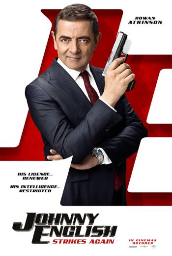 JOHNNY ENGLISH STRIKES AGAIN artwork