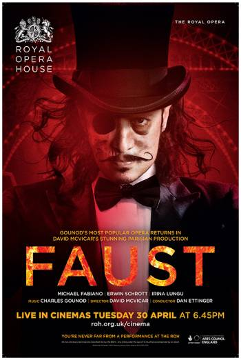 The Royal Opera: Faust Poster