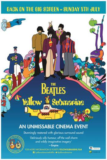 Flashback: The Beatles Yellow Submarine Poster