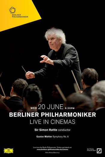 Berliner Live: Sir Simon Rattle's Farewell Concert Poster