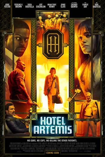 HOTEL ARTEMIS <span>(2018)</span> artwork