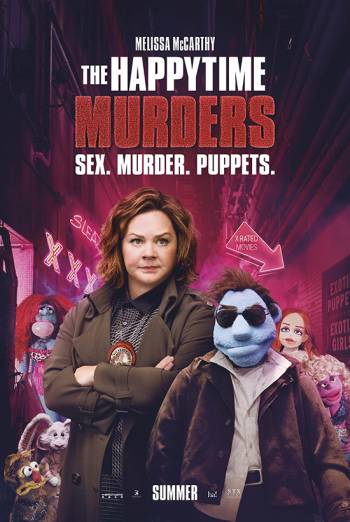 THE HAPPYTIME MURDERS <span>(2018)</span> artwork