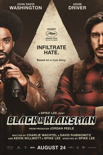 BLACKKKLANSMAN artwork
