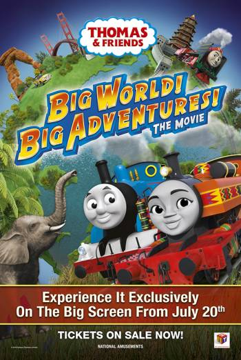 Thomas & Friends: Big World! Big Adventures! Poster