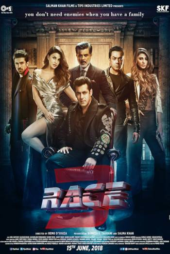 RACE 3 <span>[Subtitled,3D]</span> artwork