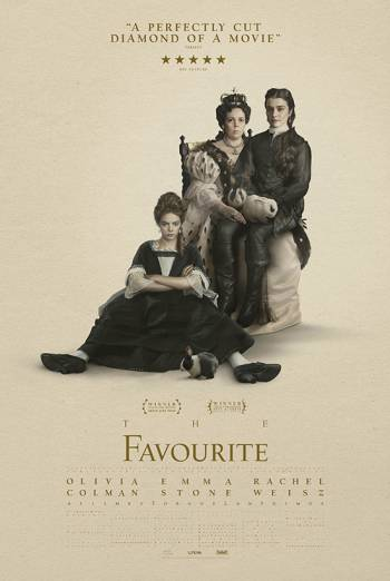 THE FAVOURITE <span>(2018)</span> artwork