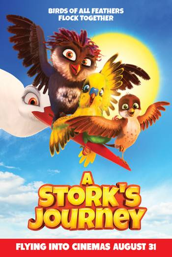 A STORK'S JOURNEY <span>[Trailer]</span> artwork