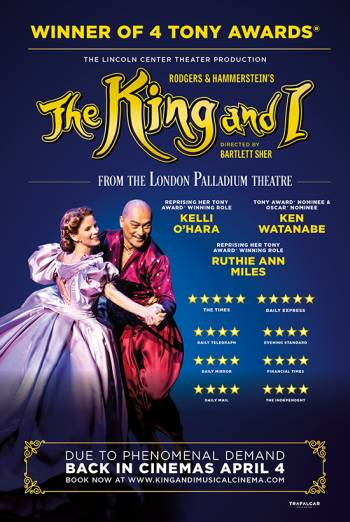 9a6e6fd463 Watch The King and I: Live at Vue Cinema | Book Tickets Online