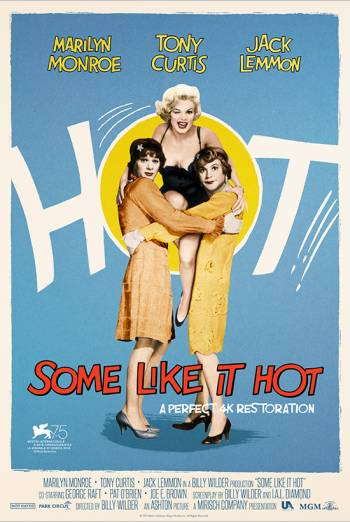 Film poster for: Some Like It Hot