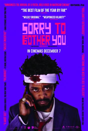 SORRY TO BOTHER YOU <span>(2018)</span> artwork