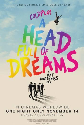 COLDPLAY: A HEAD FULL OF DREAMS <span>(2018)</span> artwork