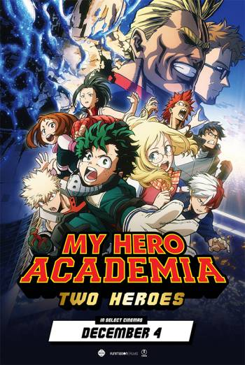 MY HERO ACADEMIA: TWO HEROES artwork