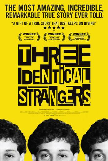 THREE IDENTICAL STRANGERS <span>(2018)</span> artwork