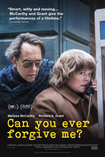 CAN YOU EVER FORGIVE ME? <span>[Additional material,Audio commentary with Marielle Heller and Melissa McCarthy]</span> artwork