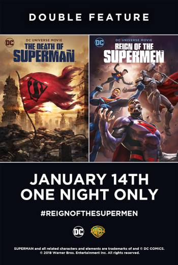 The Death of Superman & Reign of the Supermen