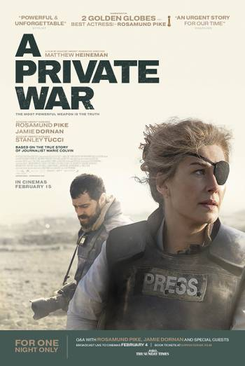 A PRIVATE WAR <span>[Additional material]</span> artwork
