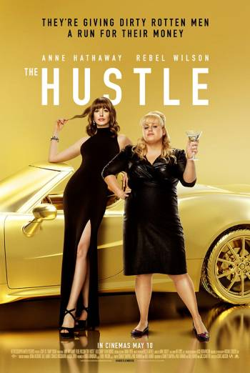 THE HUSTLE <span>[Additional material,Audio commentary with director Chris Addison]</span> artwork