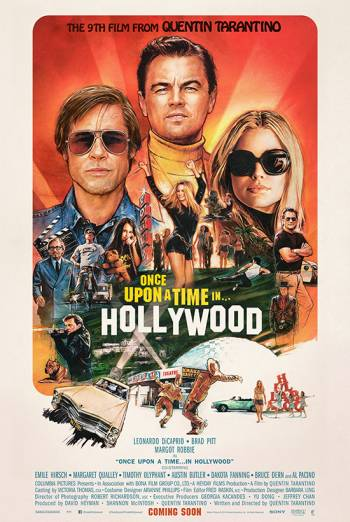 Once Upon A Time In...Hollywood Poster