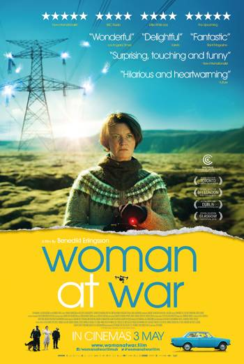 WOMAN AT WAR artwork