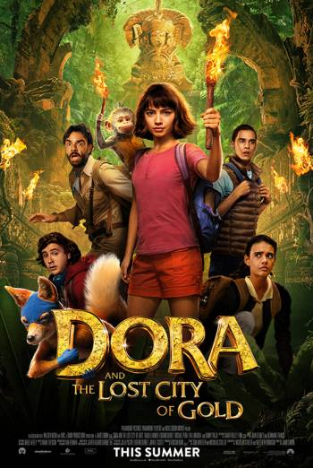 Dora & The Lost City of Gold poster