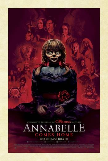 ANNABELLE COMES HOME <span>(2019)</span> artwork