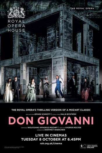 The Royal Opera: Don Giovanni Poster