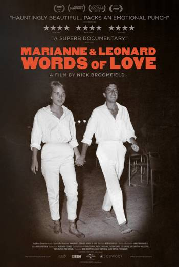 MARIANNE & LEONARD: WORDS OF LOVE <span>(2019)</span> artwork