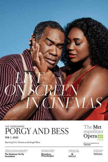 Met Opera 19/20 - The Gershwins' Porgy and Bess Poster