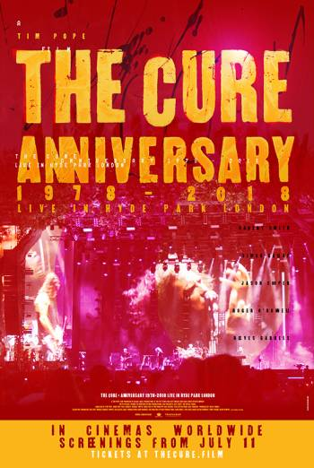 THE CURE - ANNIVERSARY 1978-2018 LIVE IN HYDE PARK LONDON <span>(2019)</span> artwork