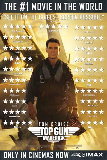 Film poster for: Top Gun: Maverick