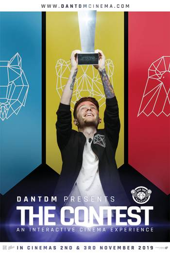 DanTDM Presents The Contest Poster