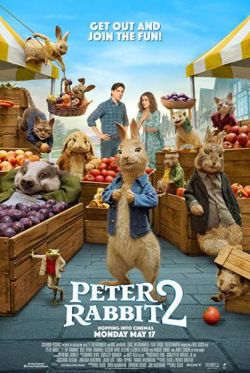 Film poster for: Peter Rabbit 2