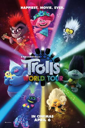 TROLLS 2 WORLD TOUR <span>[Additional material,Audio commentary]</span> artwork