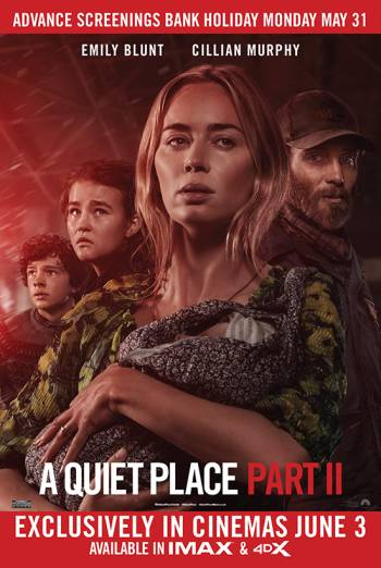A QUIET PLACE PART II artwork