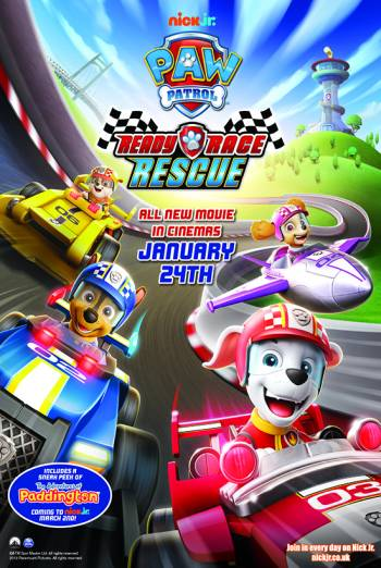 Paw Patrol: Ready, Race, Rescue Poster