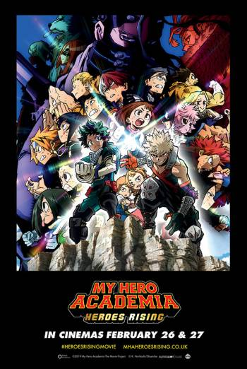 My Hero Academia Heroes Rising Dubbed Film Times And Info Showcase