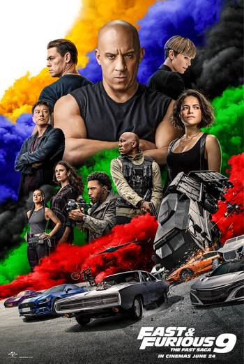 Film poster for: Fast & Furious 9
