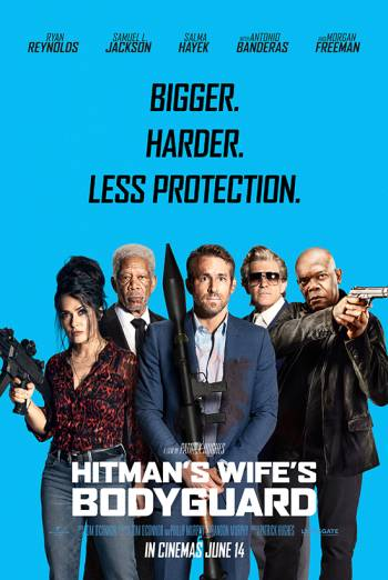 Film poster for: The Hitman's Wife's Bodyguard