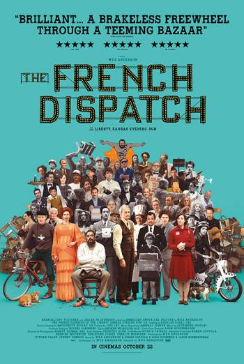Film poster for: The French Dispatch