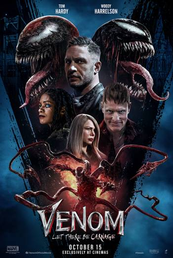 Film poster for: Venom: Let There Be Carnage