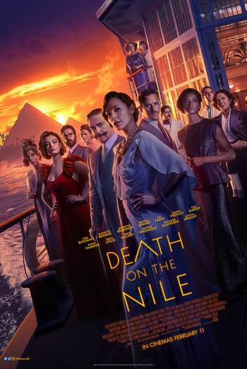 Film poster for: Death on the Nile