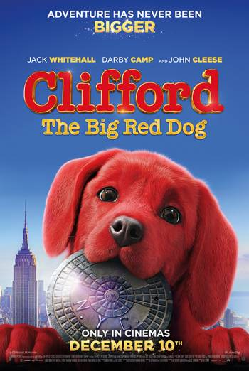 Film poster for: Clifford The Big Red Dog