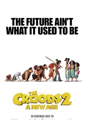 Film poster for: The Croods 2: A New Age