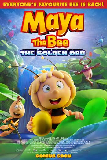 Film poster for: Maya The Bee 3: The Golden Orb