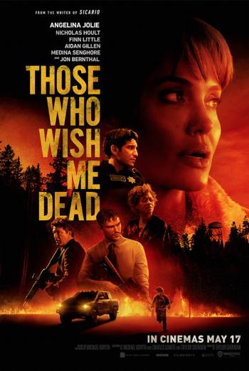 Film poster for: Those Who Wish Me Dead
