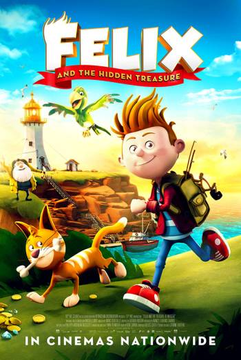 Film poster for: Felix And The Hidden Treasure