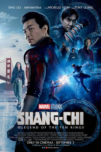 Film poster for: Shang Chi And The Legend Of The Ten Rings